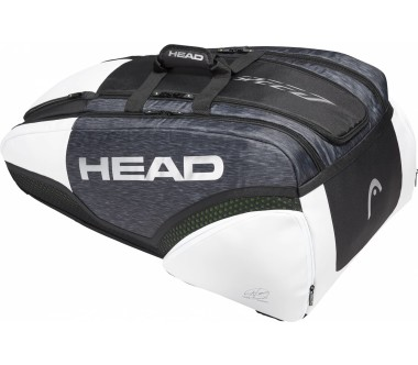 Head - Djokovic 12R Monstercombi Tennistasche (schwarz)