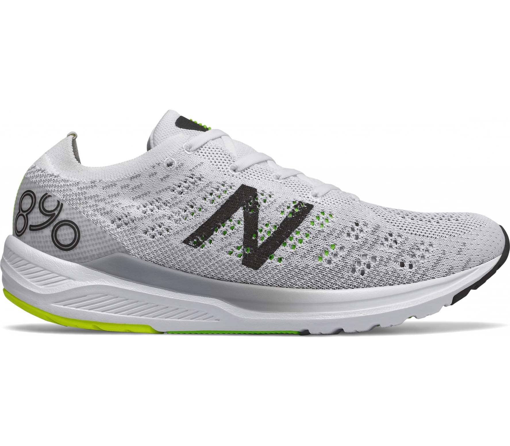 buy popular 3afc9 3077a New Balance - 890 v7 men s running shoes (white black)