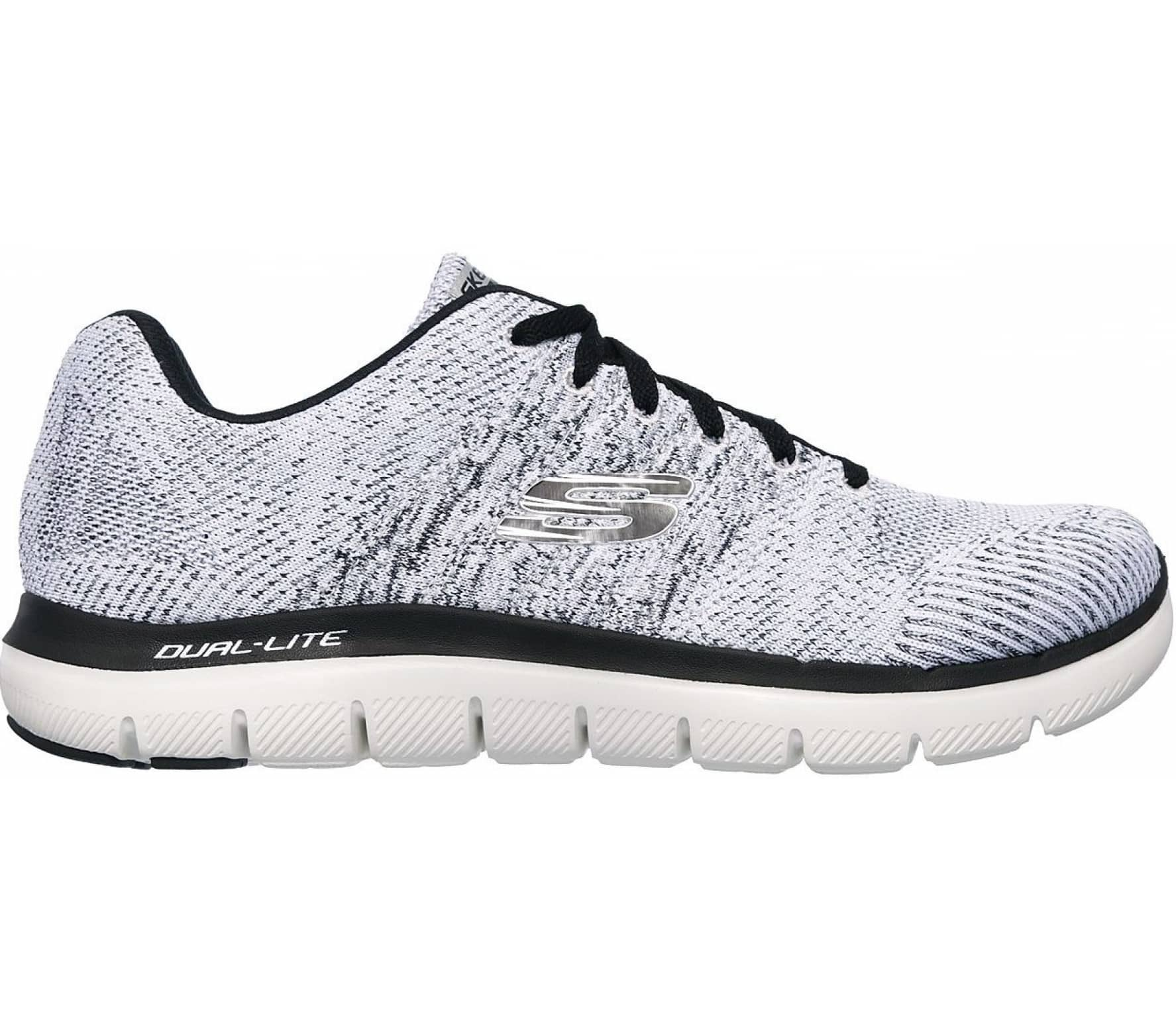 6f73eb8e0eec Skechers - Flex Advantage 2.0 Missing Link men s running shoes (white black)