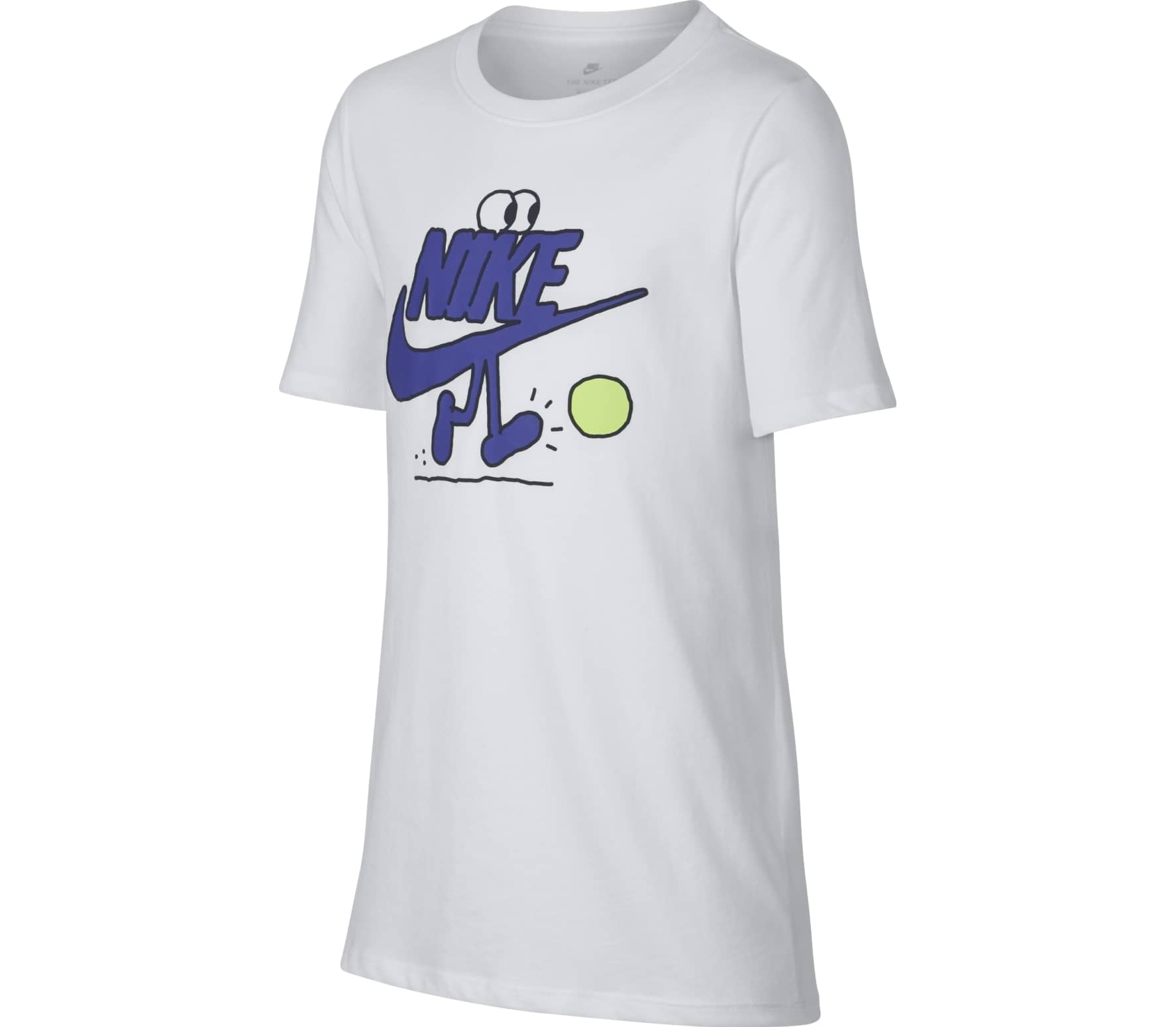 Nike Sportswear Junior Trainingsshirt Children white