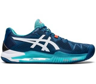 ASICS GEL-Resolution 8 Clay Herr Tennisskor