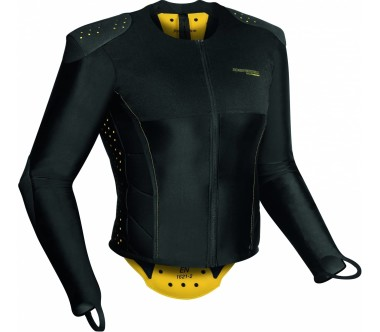 Komperdell - Pro Jacket men's protector jacket (black/yellow)