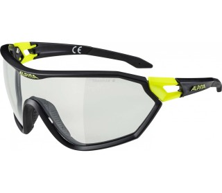 Alpina Alpina S-Way VL+ Bike Brille Unisex noir