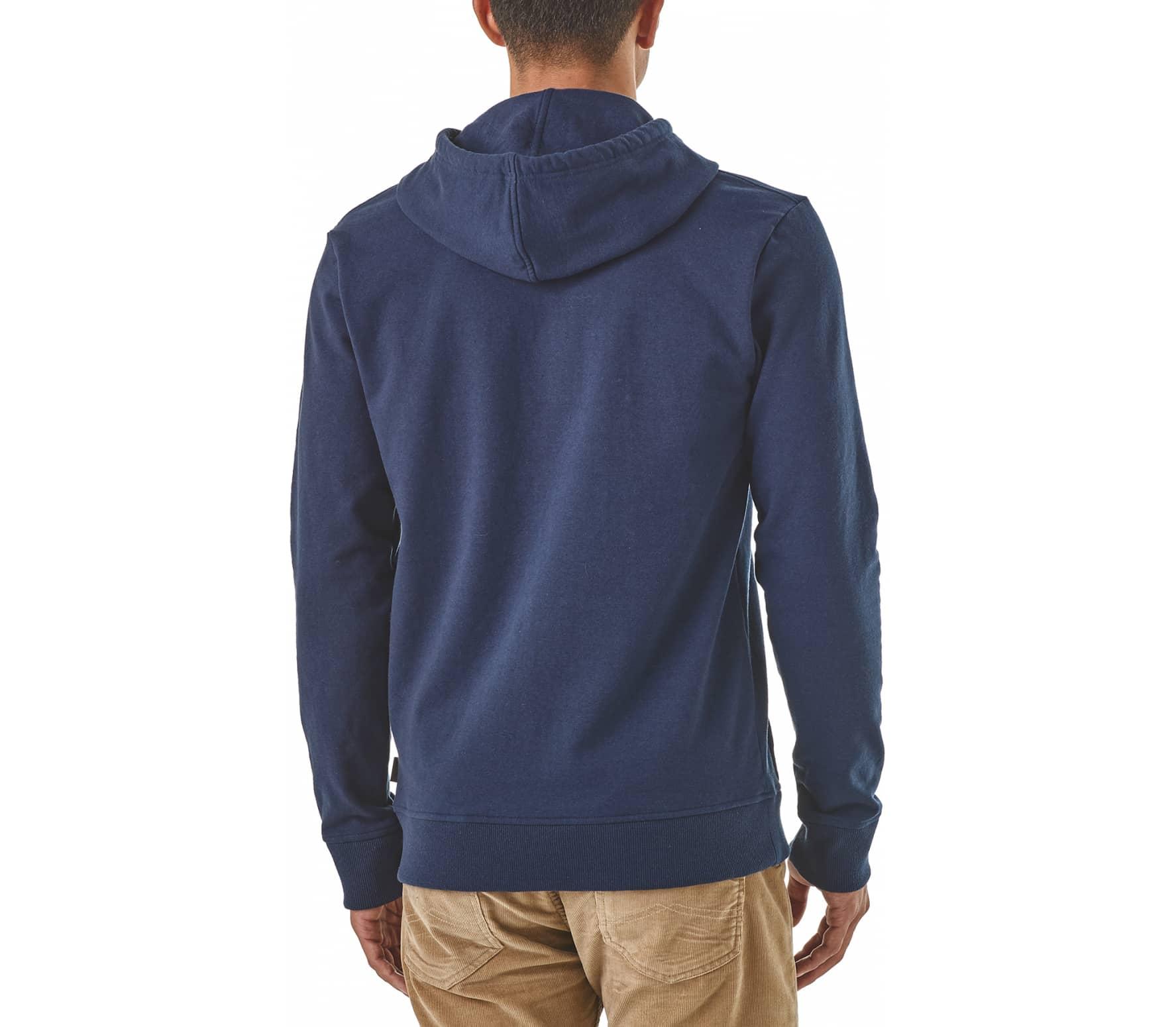 Patagonia - Live Simply Winding Uprisal men's hoodie (blue)