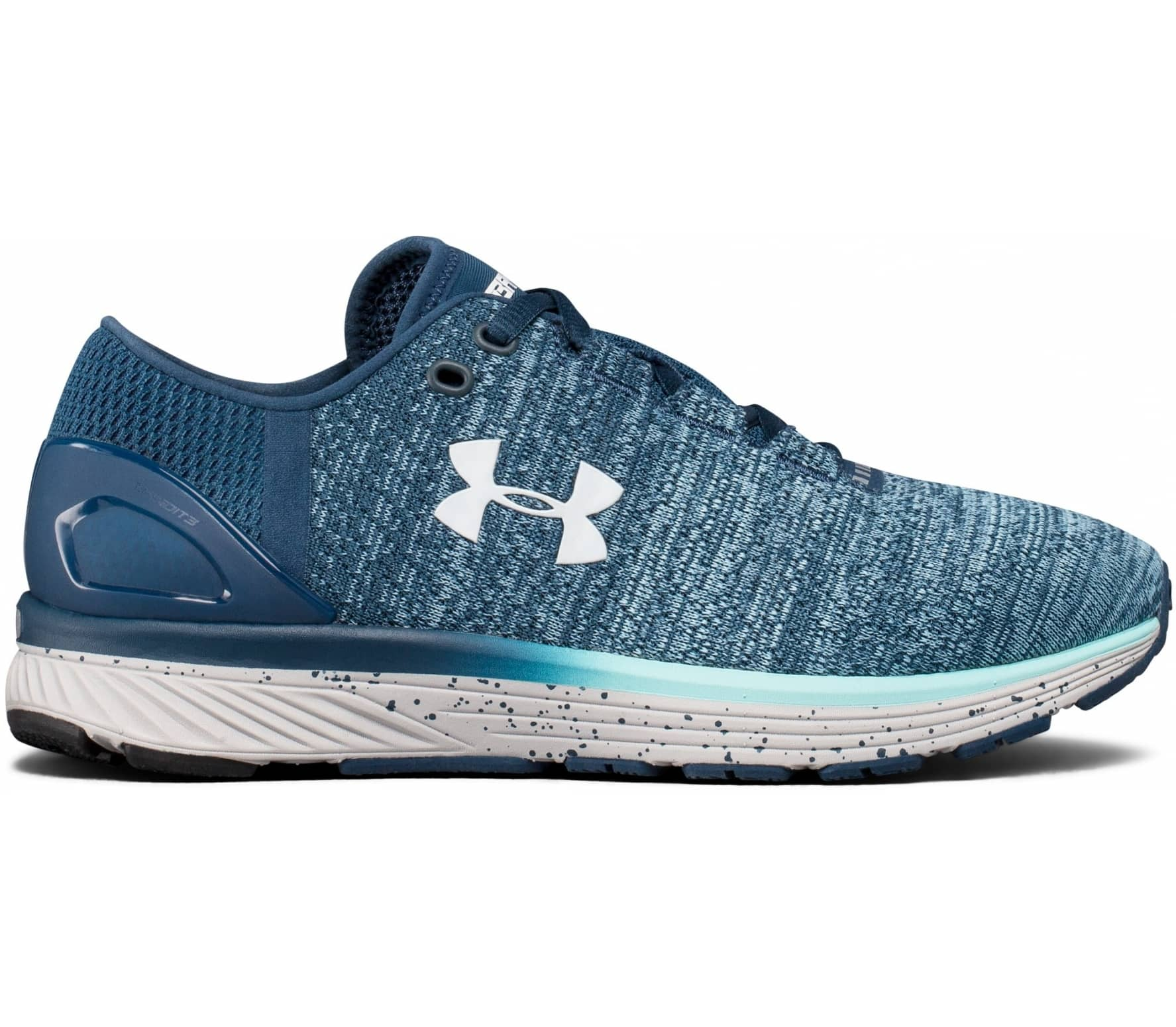 finest selection f36db b67fd Under Armour - Charged Bandit 3 women s running shoes (blue grey)