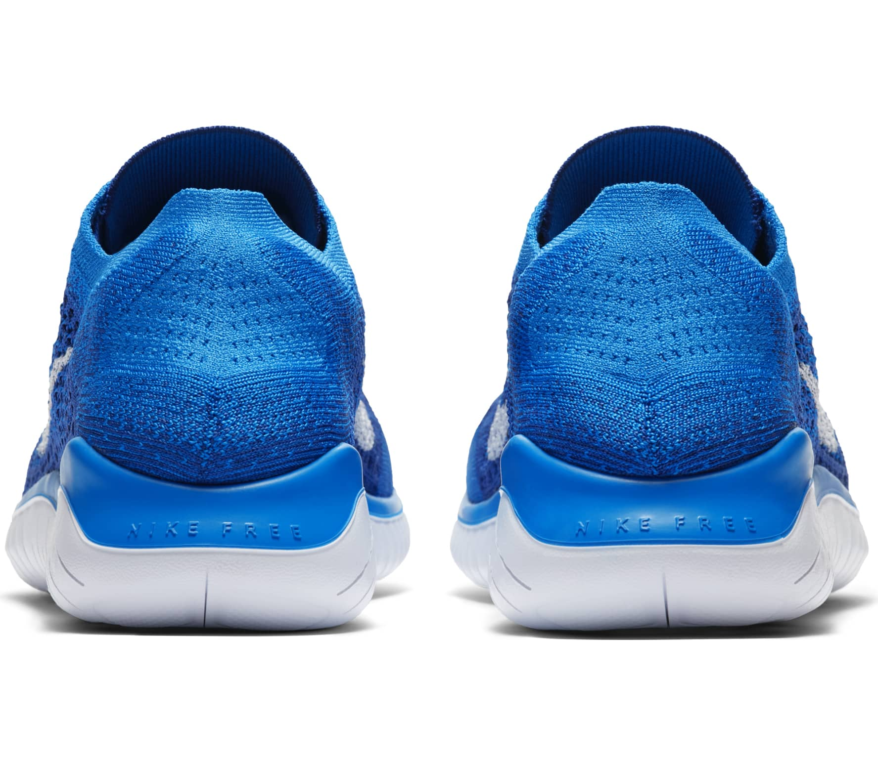 separation shoes 20237 fef47 Nike - Free RN Flyknit 2018 men s running shoes (blue)