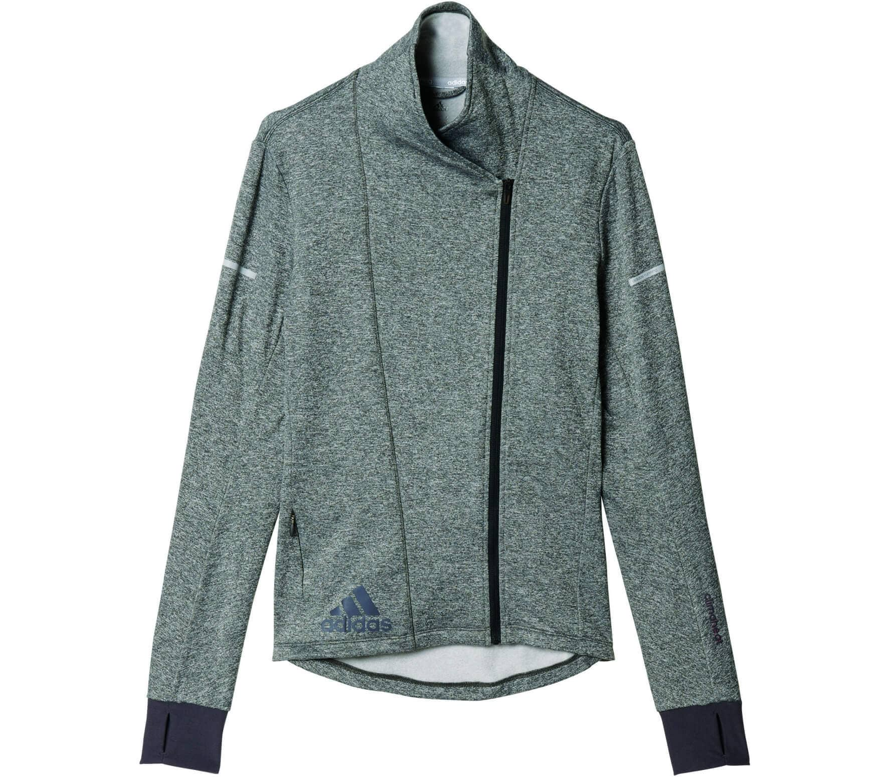 Adidas - Sequencials Climaheat women's running jacket (grey/black) - S thumbnail