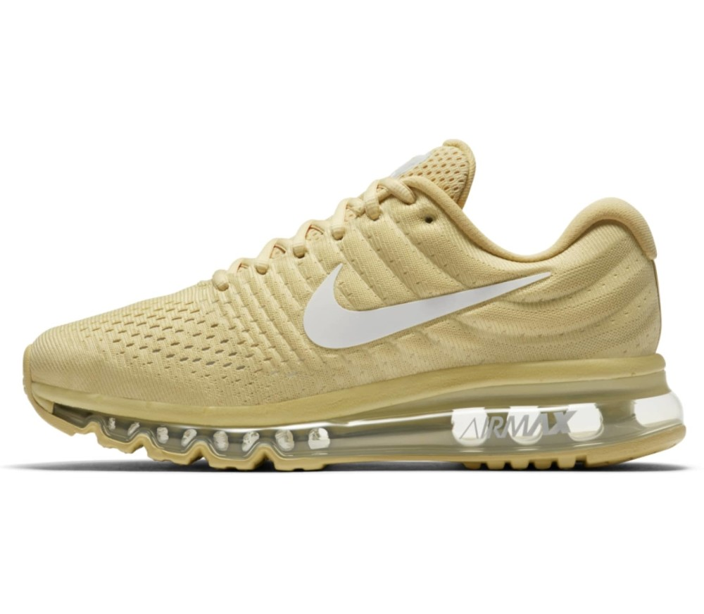 official photos 46136 34bf5 Nike - Air Max 2017 women's running shoes (yellow/white) Køb online ...