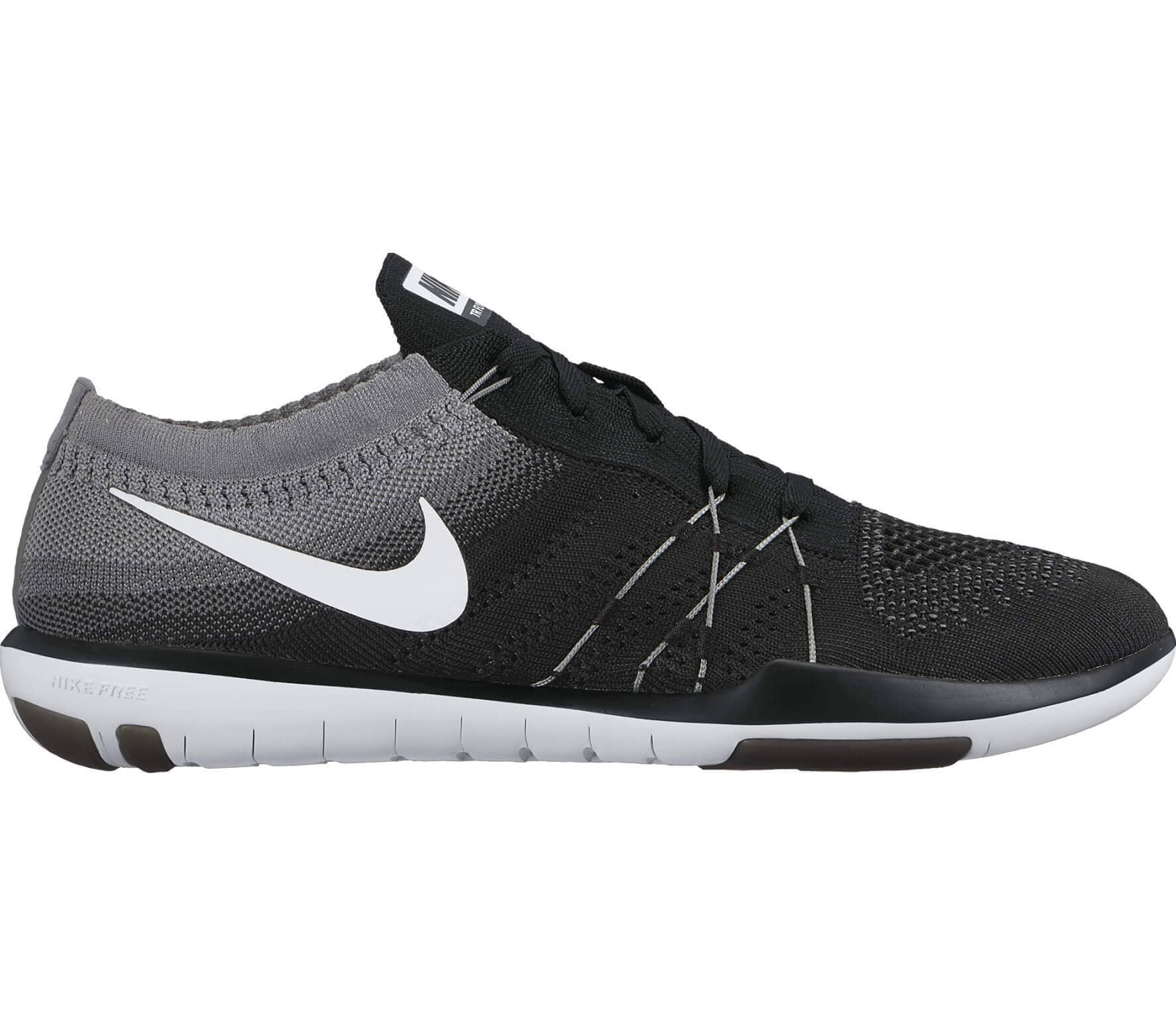 finest selection c75a1 a5846 Nike - Free Focus Flyknit women s training shoes (black grey)