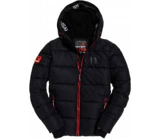 Taped Sports Puffer Hombre Chaqueta de esquí