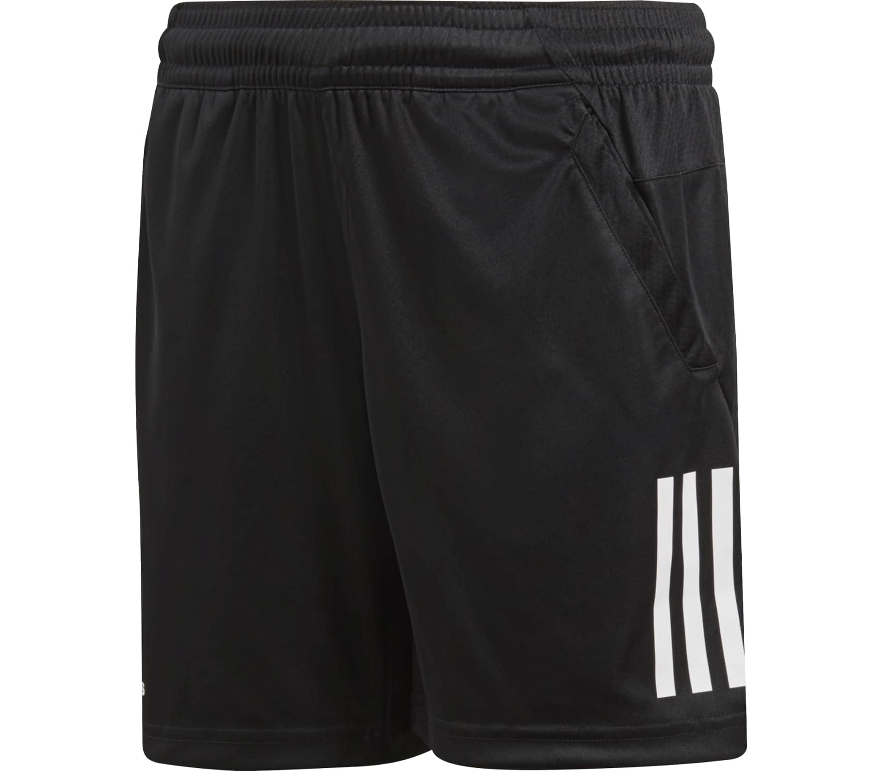 a95d9b6c98d2d1 Adidas - Boys 3-Stripes Club Children tennis shorts (black) - buy it ...