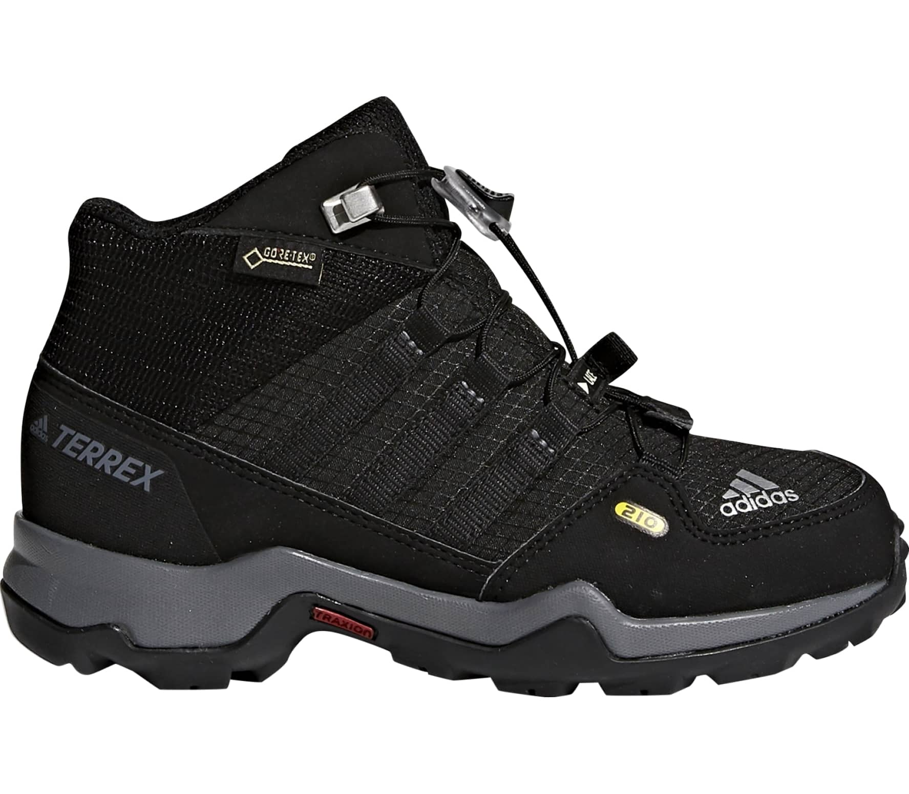 84b3257a39327 Adidas - Terrex Mid GTX hiking shoes for kids (black) - buy it at ...