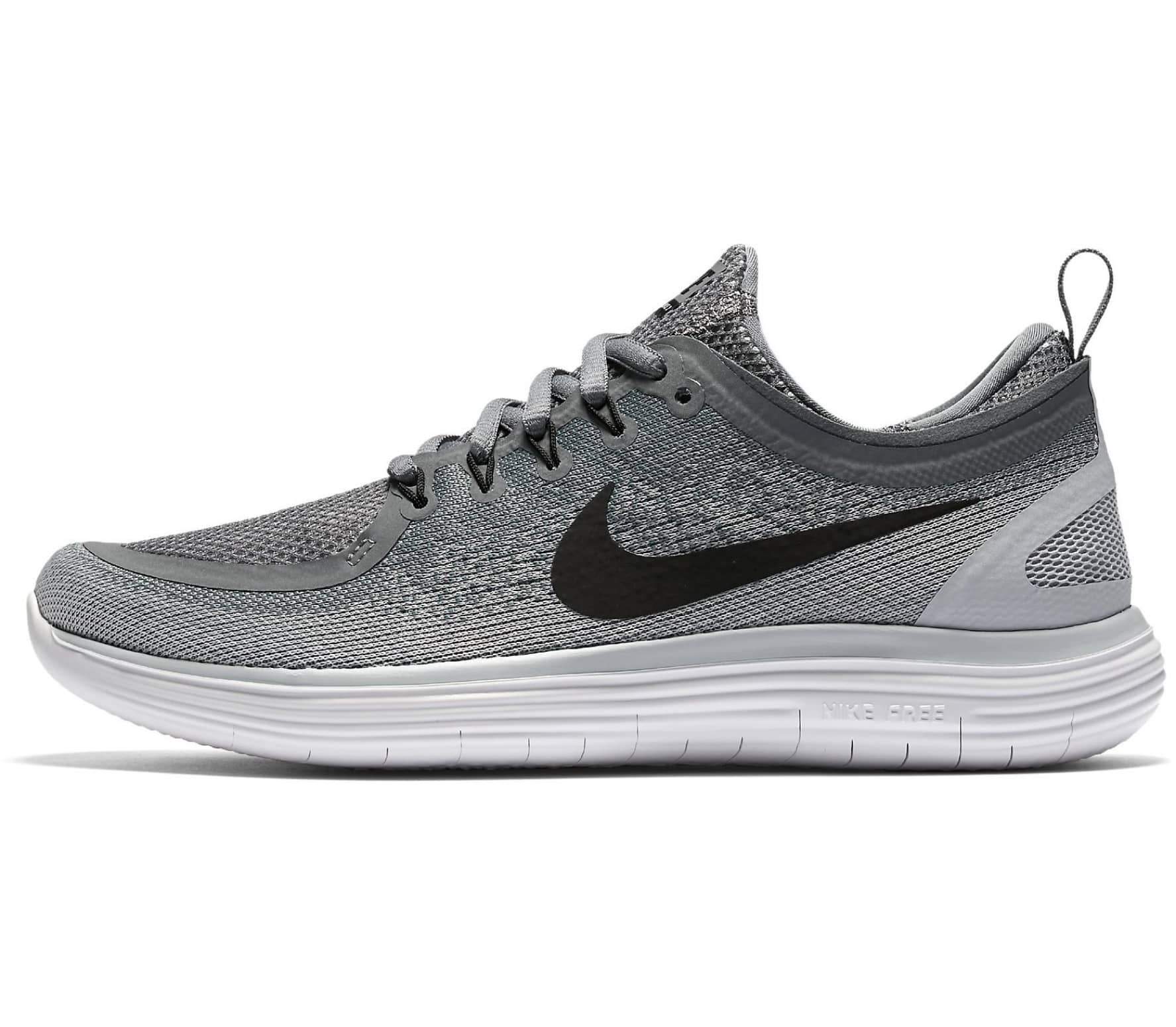 Nike - Free RN Distance 2 women s running shoes (grey white) - buy ... 98c1a74c20828