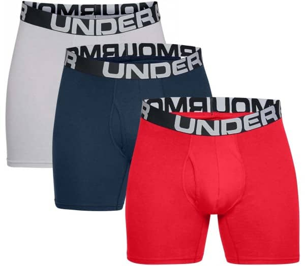 UNDER ARMOUR Charged Cotton 6 in 3 Pack Men Boxer Shorts - 1