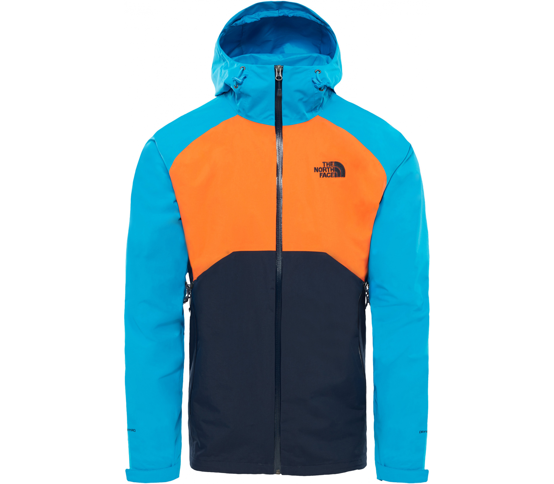 The North Face - Stratos Herren Funktionsjacke (blau/orange)