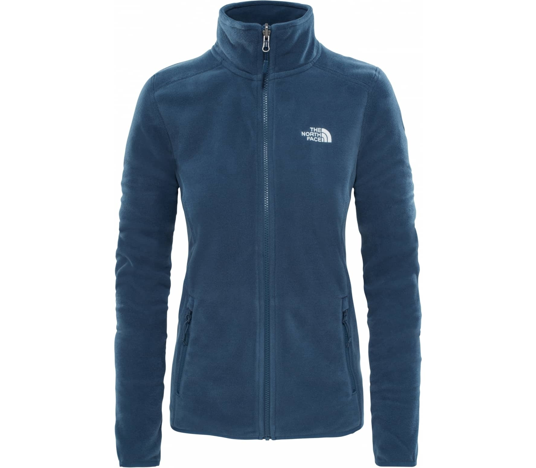 c1a43edf61 The North Face - 100 Glacier Full Zip Donna giacca in pile (blu)