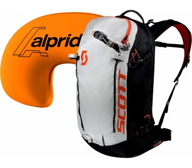 Scott - Backcountry Patrol AP 30 kit Mochila avalanche (blanco/negro)