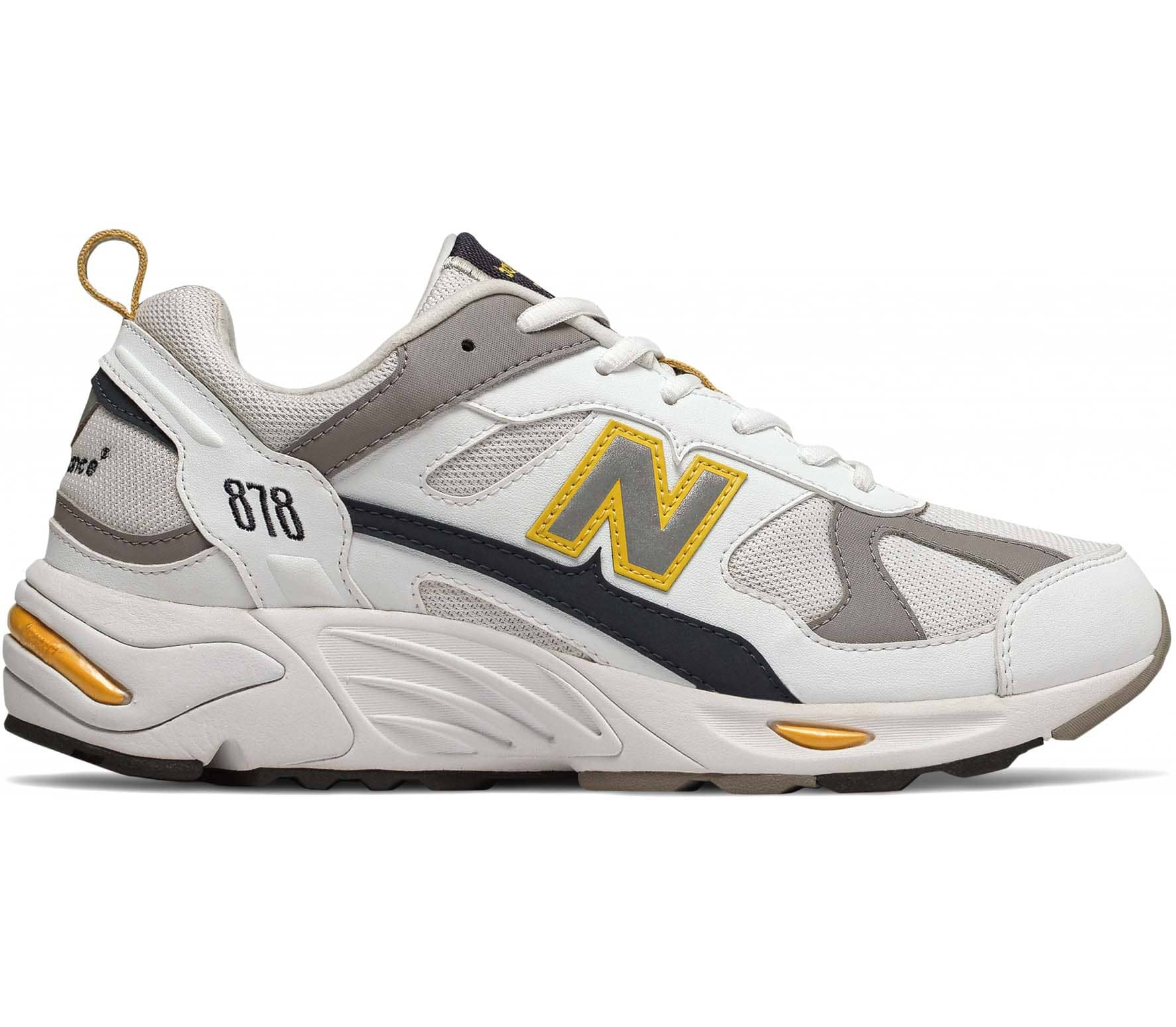 new product 3ed95 b33a5 New Balance 878 Unisex Sneakers white