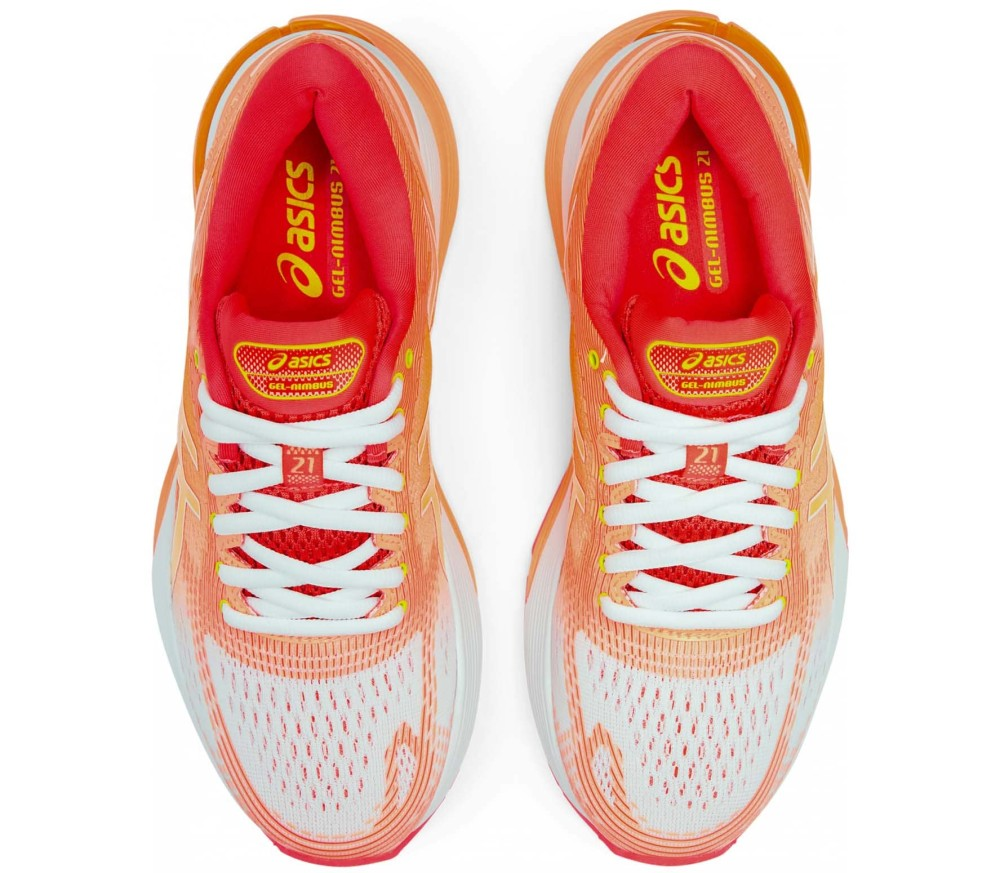 ASICS Gel-Nimbus 21 Unisex Running Shoes  white