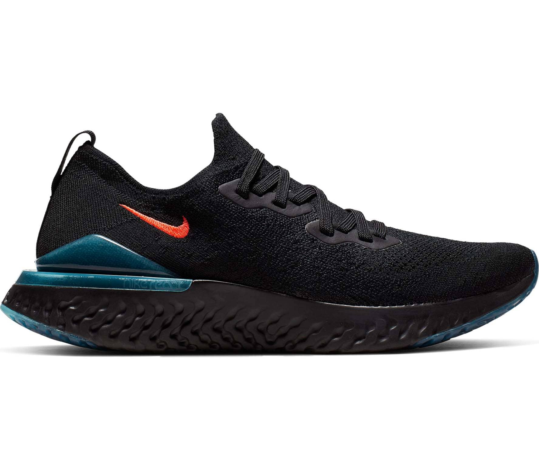 17f85a55a5c9 Nike - Epic React Flyknit 2 men s running shoes (black) - buy it at ...