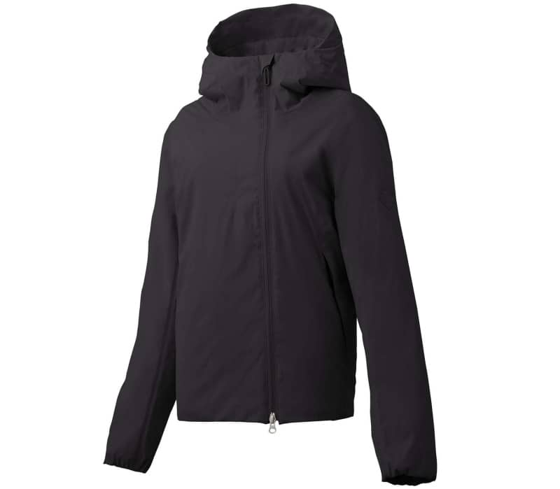 Perforated Insulation Hooded Damen Windbreaker