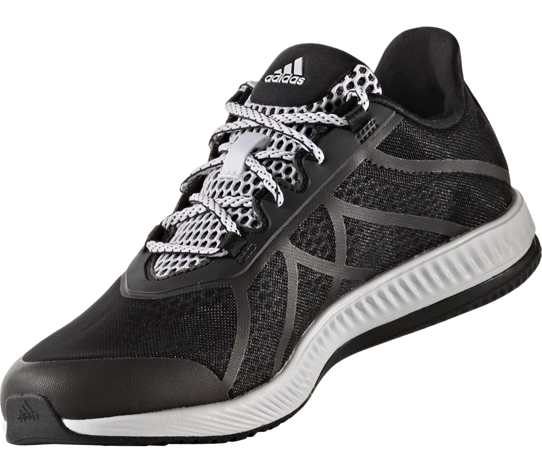 save off f189e b3d5d Adidas - Gymbreaker Bounce B women s training shoes (black white)