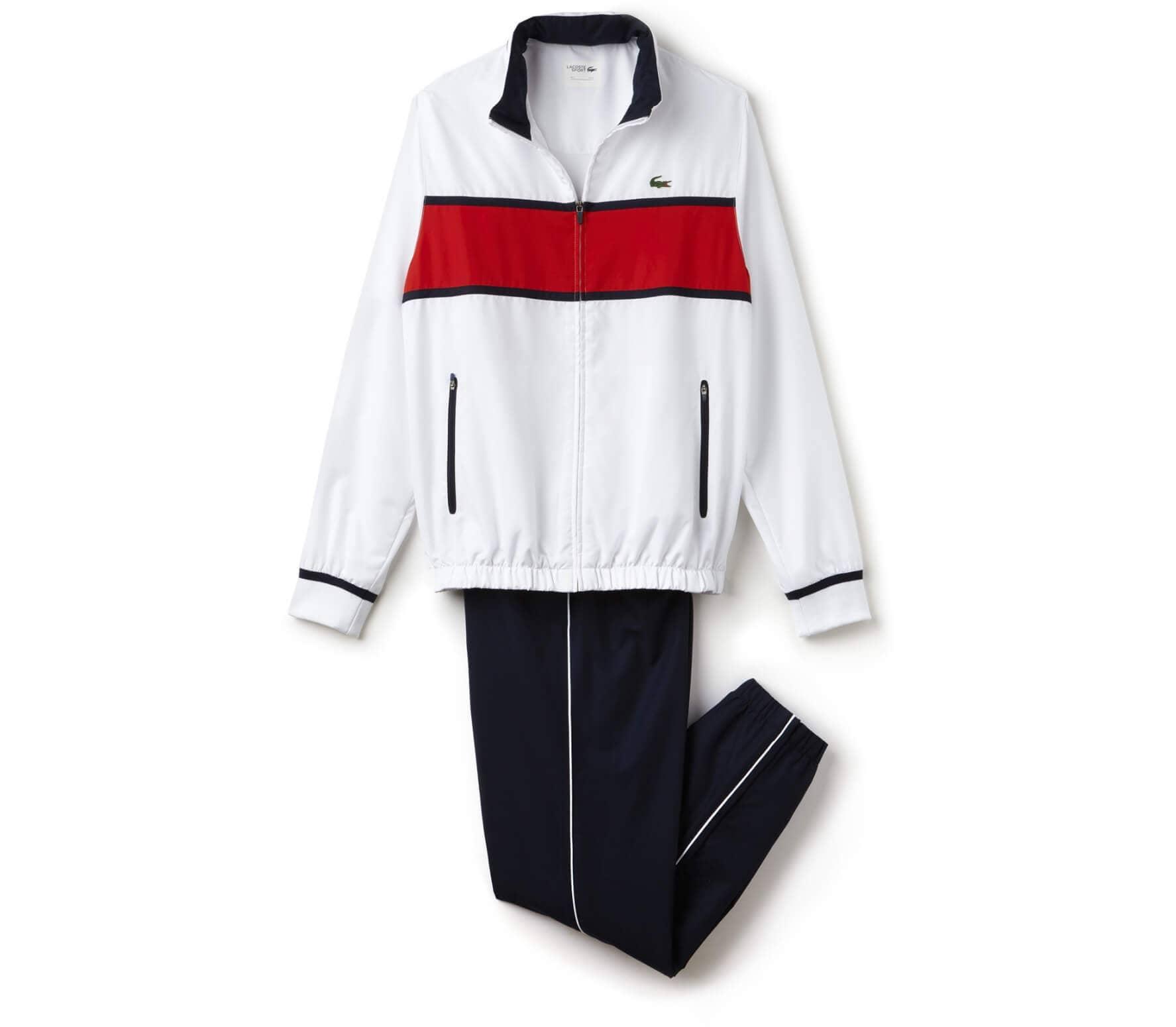 buy online 94796 320df Lacoste Trainingsanzug Herren