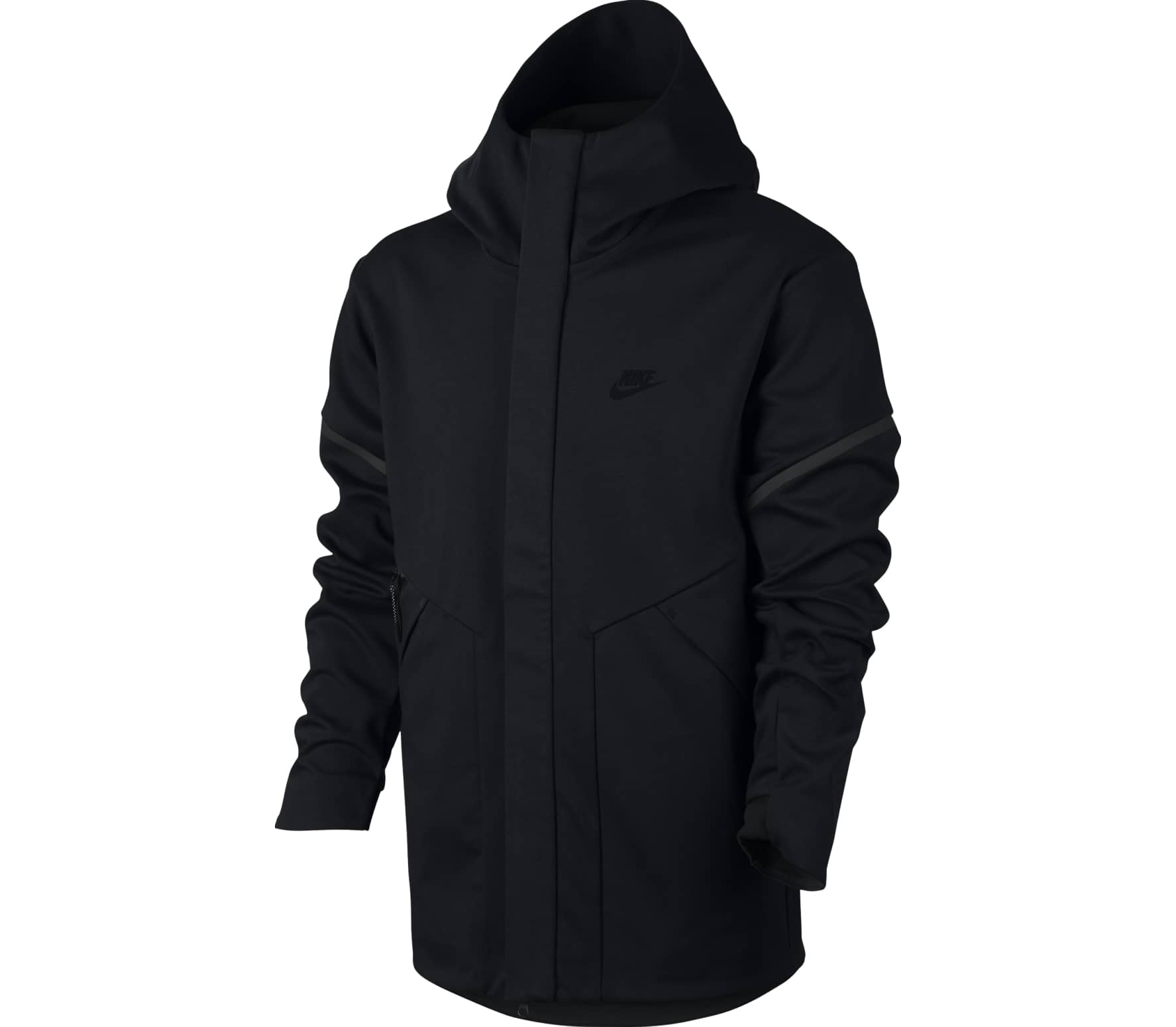 743e9ddf1db95b Nike - Tech Fleece Windrunner Jacket Herren Fleecejacke (schwarz) im ...