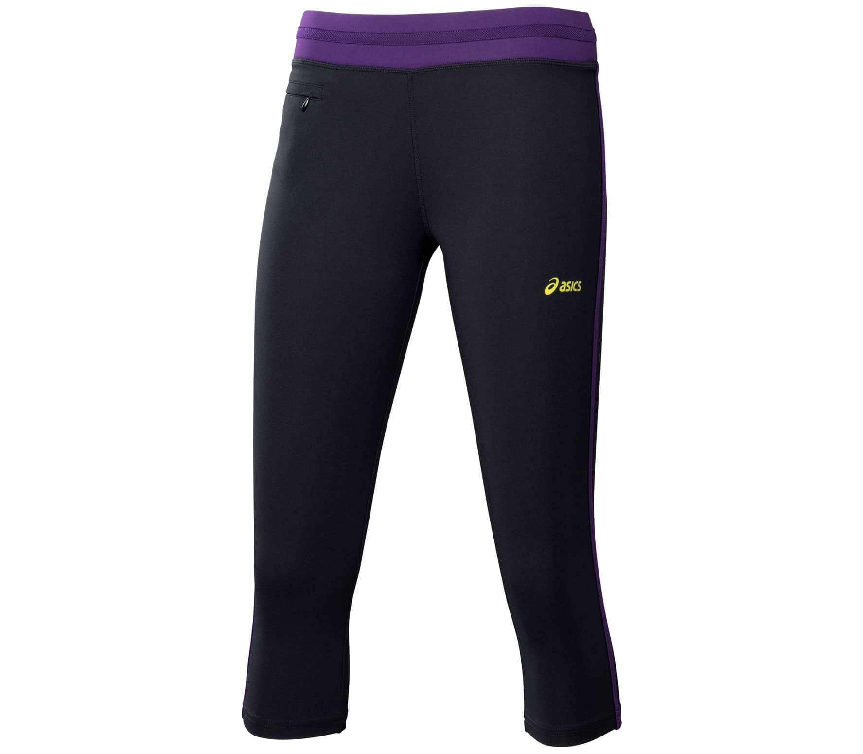 f4c0427b4b4 ASICS - 3/4 Tight Dames Trainingsbroek (zwart/purper) online kopen ...