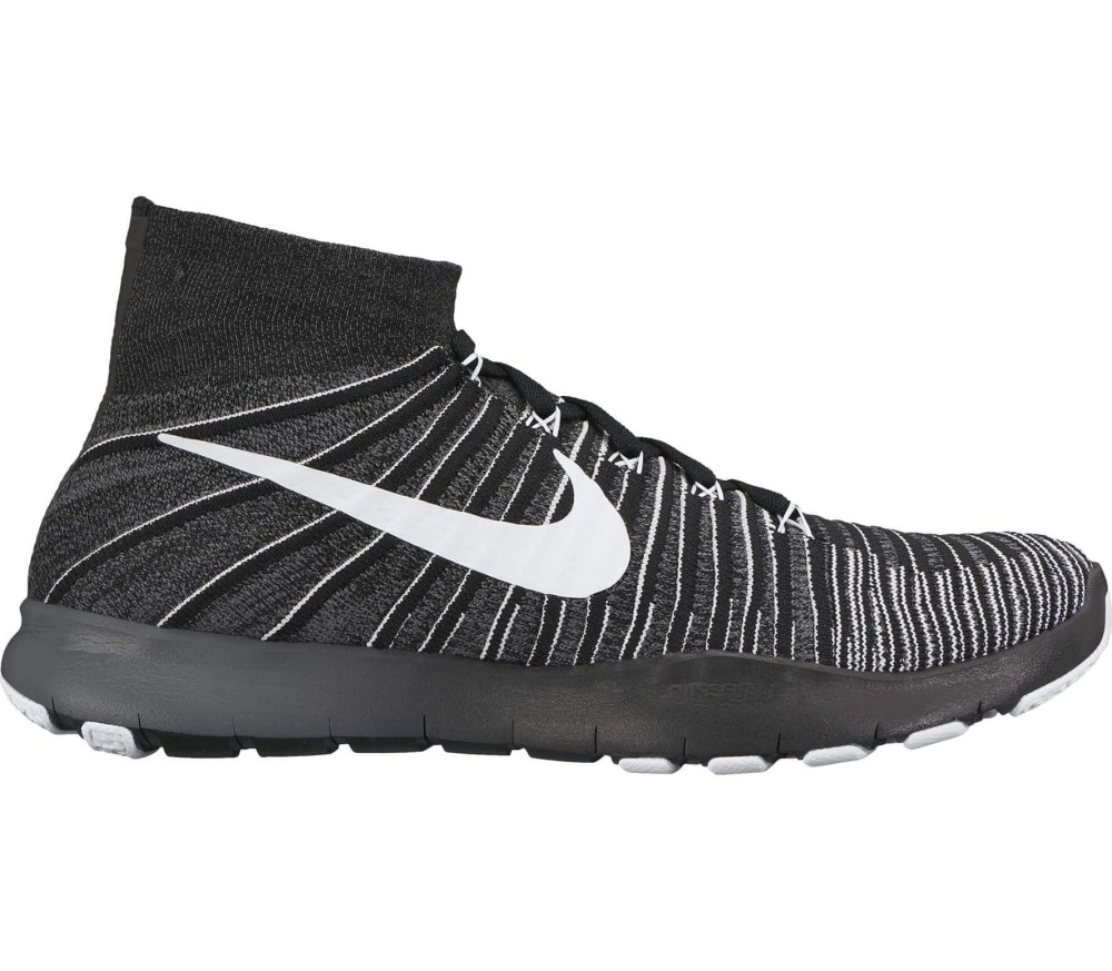Nike - Free Train Force Flyknit Herren Trainingsschuh (schwarz/weiß)