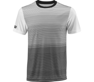 Wilson Team Striped Crew Men Tennis Top