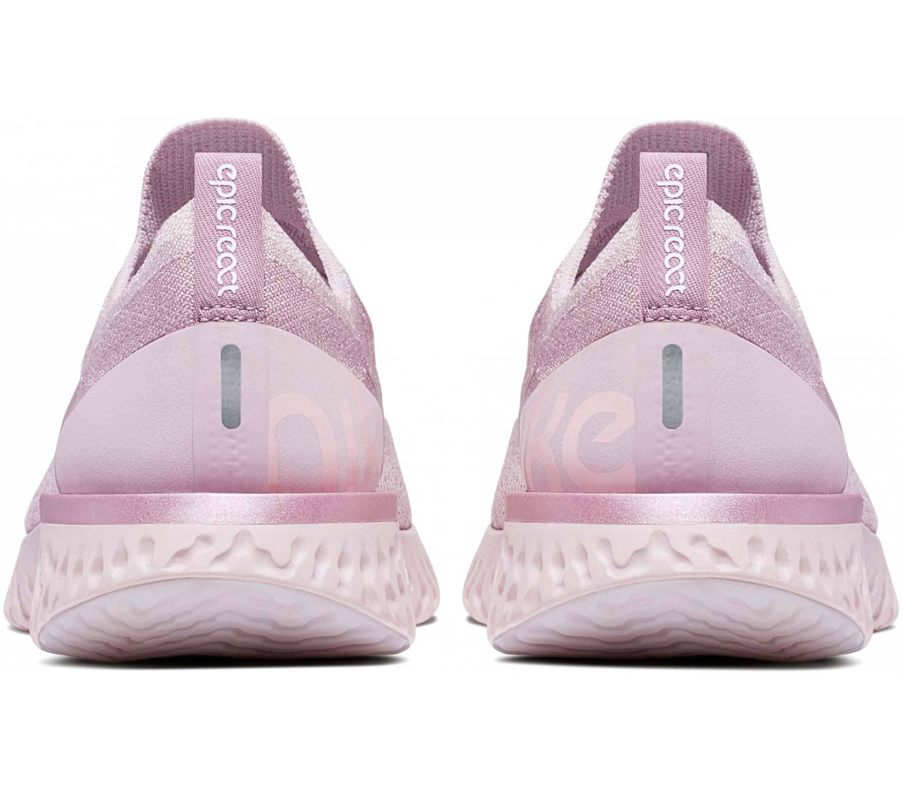 quality design 76ce5 a9ce0 Nike - Epic React Flyknit women s running shoes (pink)
