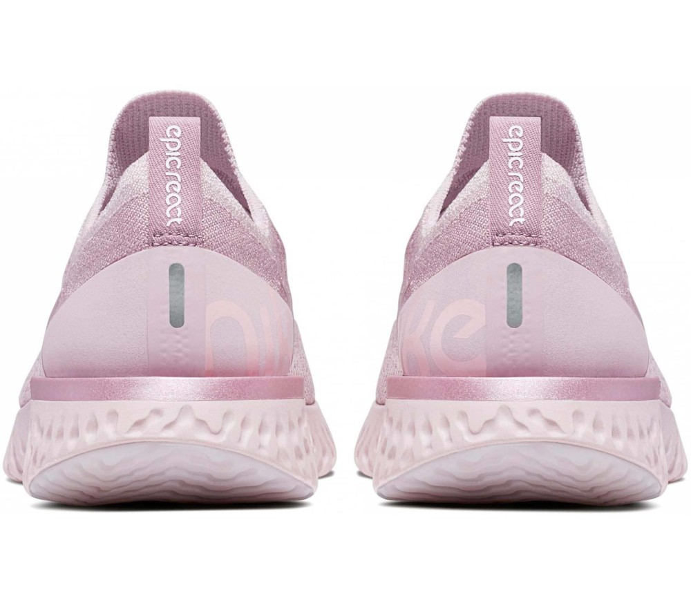 quality design 7b1df d09af Nike - Epic React Flyknit women s running shoes (pink)