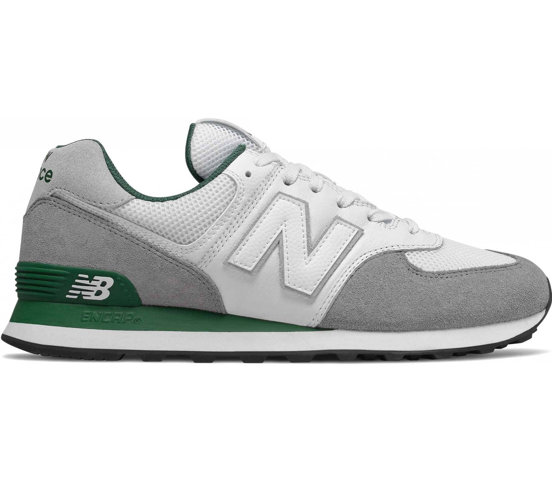 new balance 574 zwart heren