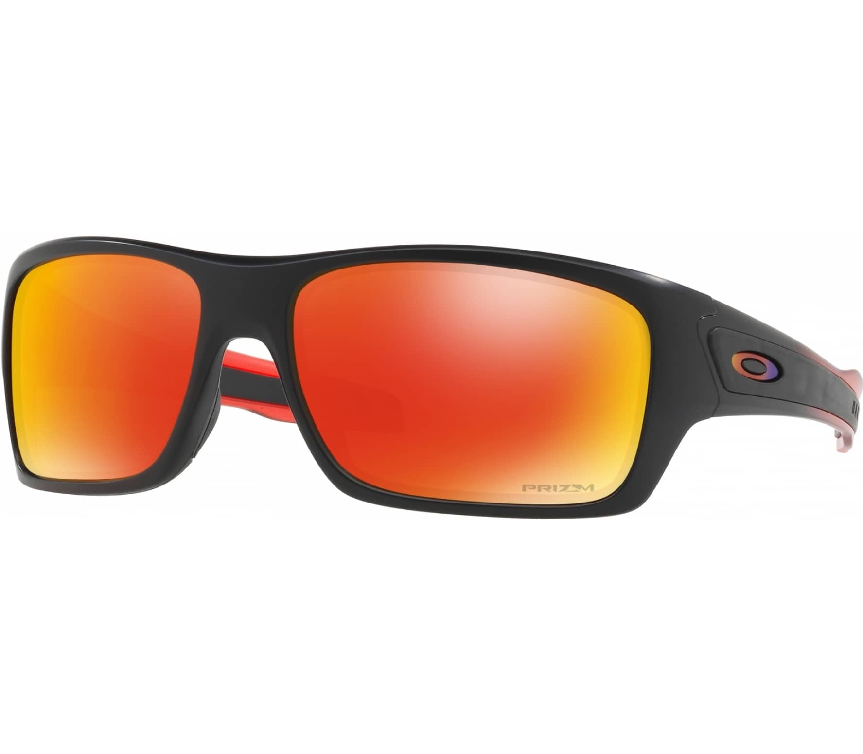 oakley turbine bike brille schwarz orange im online. Black Bedroom Furniture Sets. Home Design Ideas