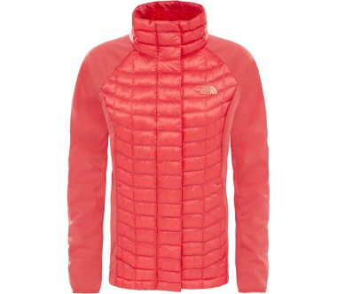 The North Face - ThermoBall Full-Zip Damen Hybridjacke (hellrot)