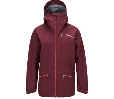 Peak Performance - Radical men's 3-layer ski jacket (red/orange)
