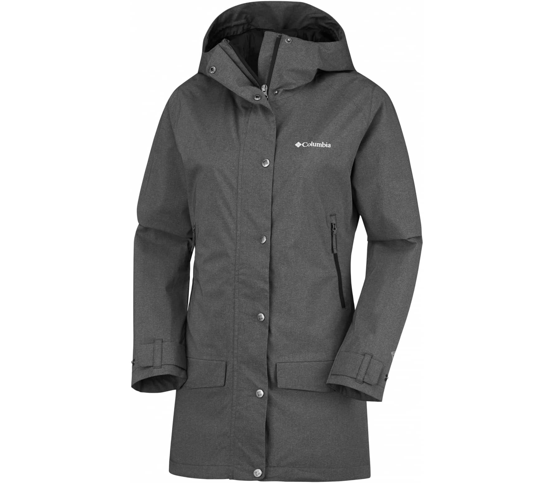 Rainy Creek Damen Parka (schwarz) - M