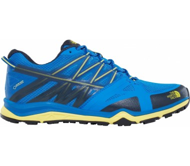 The North Face - Hedgehog Fastpack Lite II GTX men's hiking shoes (blue-yellow)
