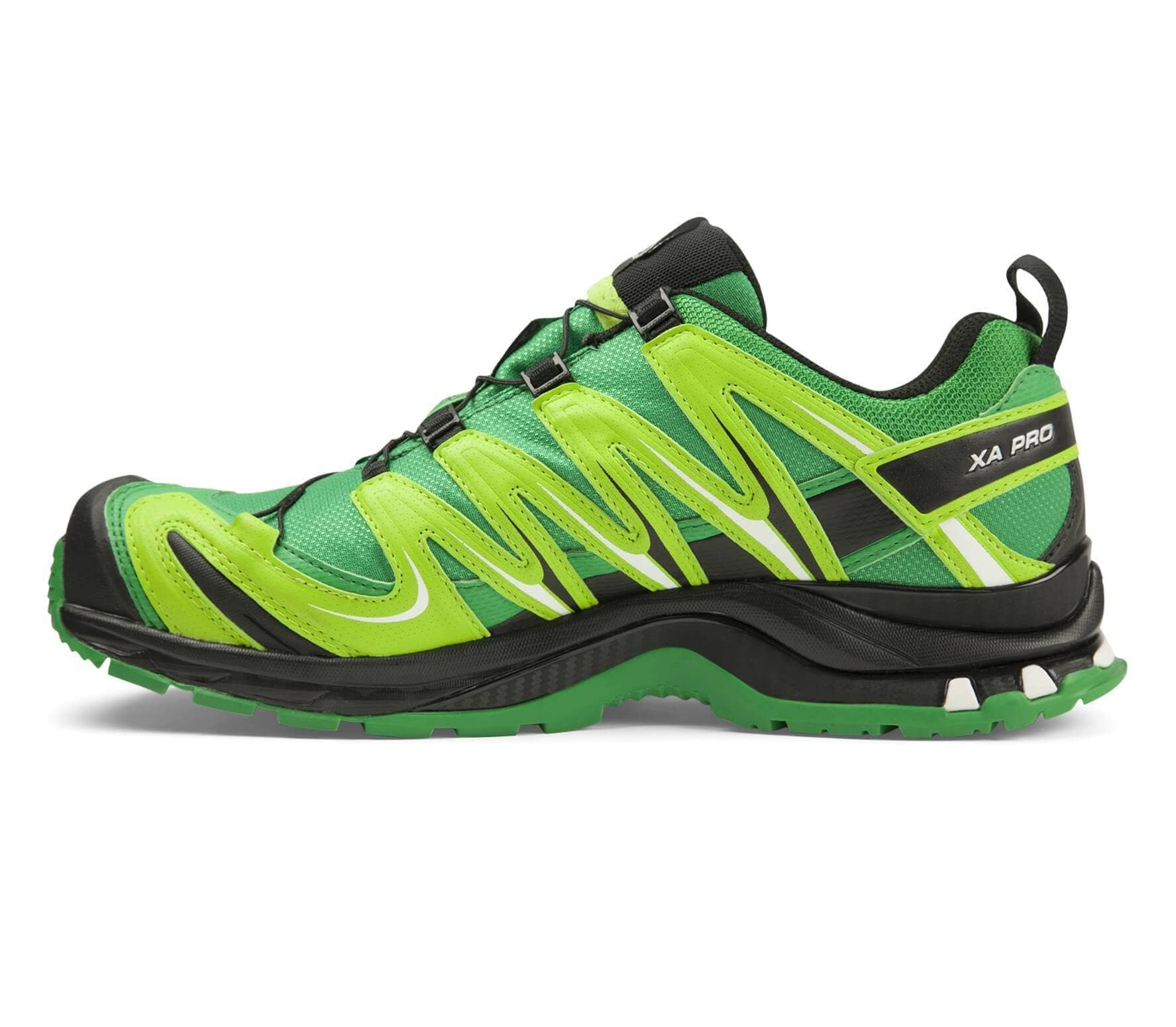4e3caf2bb85 Salomon - XA Pro 3D GTX men's trail running shoes (green/light yellow)