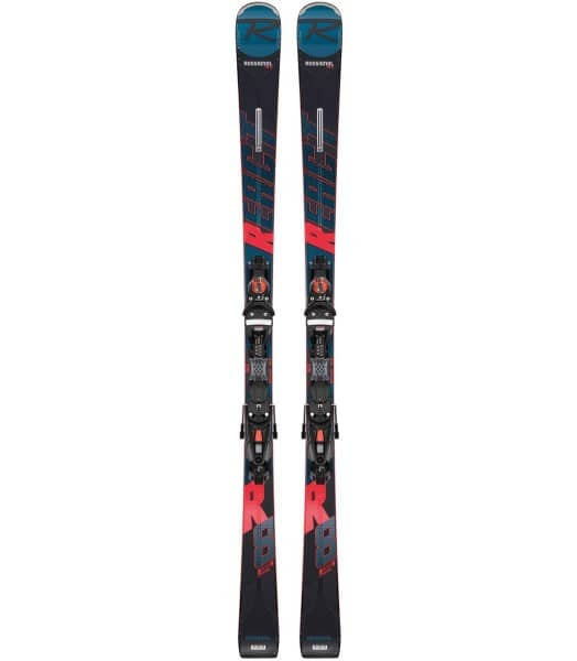 ROSSIGNOL React R8 Ti inkl. NX 12 Konect GW B80 Unisex Skis with Bindings