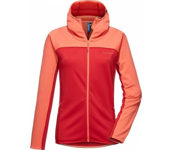 PYUA Crest Hooded Damen Fleecejacke - 1