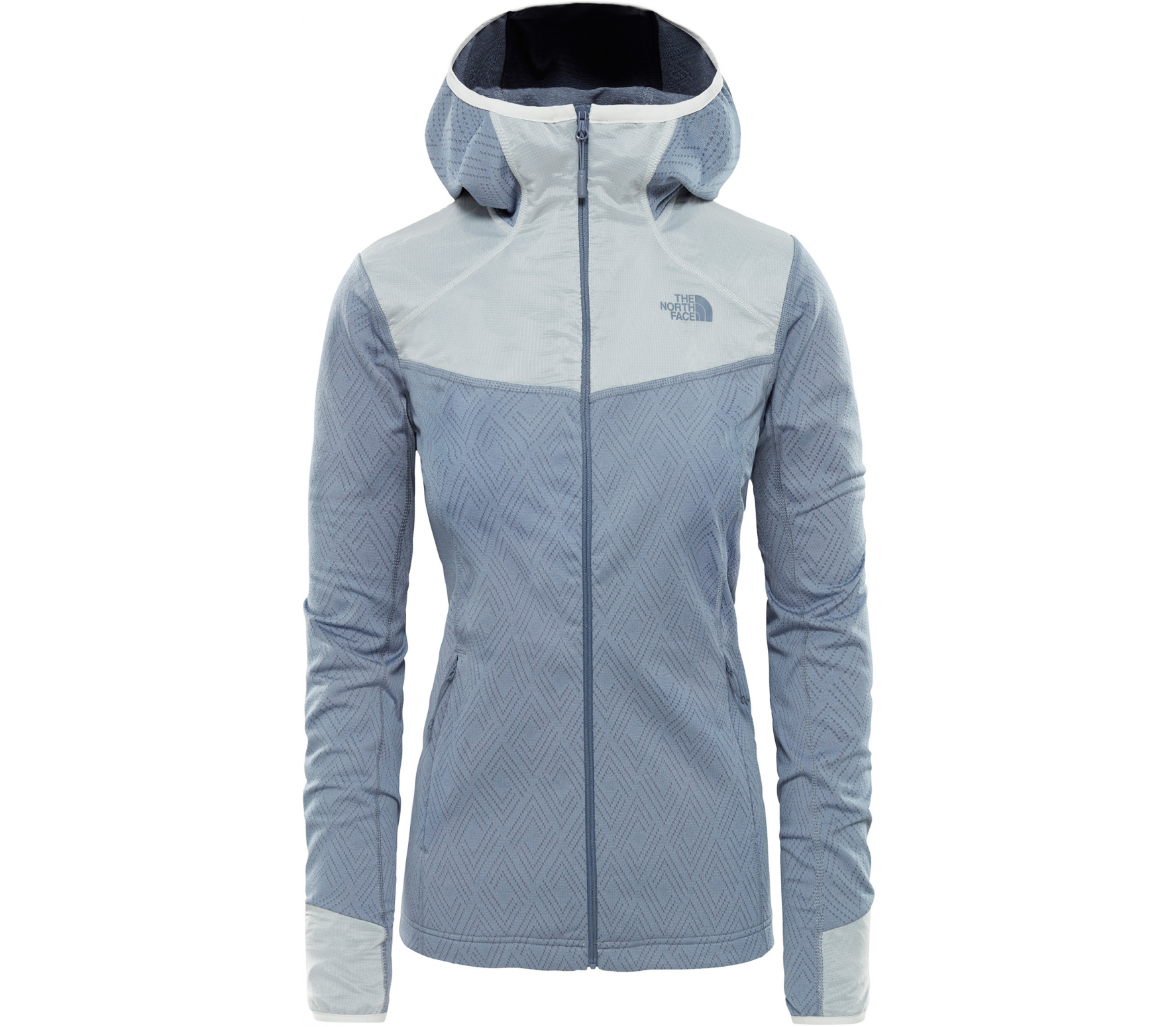 87c9893e2 The North Face Inlux Tech Midlayer Women silver