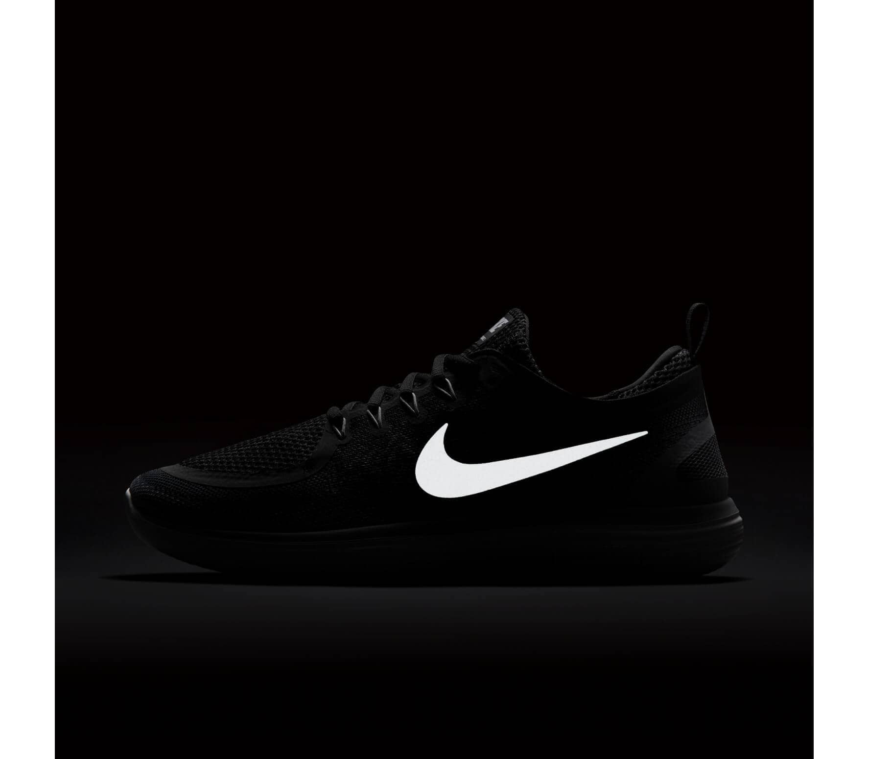newest cfa2b 2a639 Nike - Free RN Distance 2 chaussures de running pour hommes (noir blanc)
