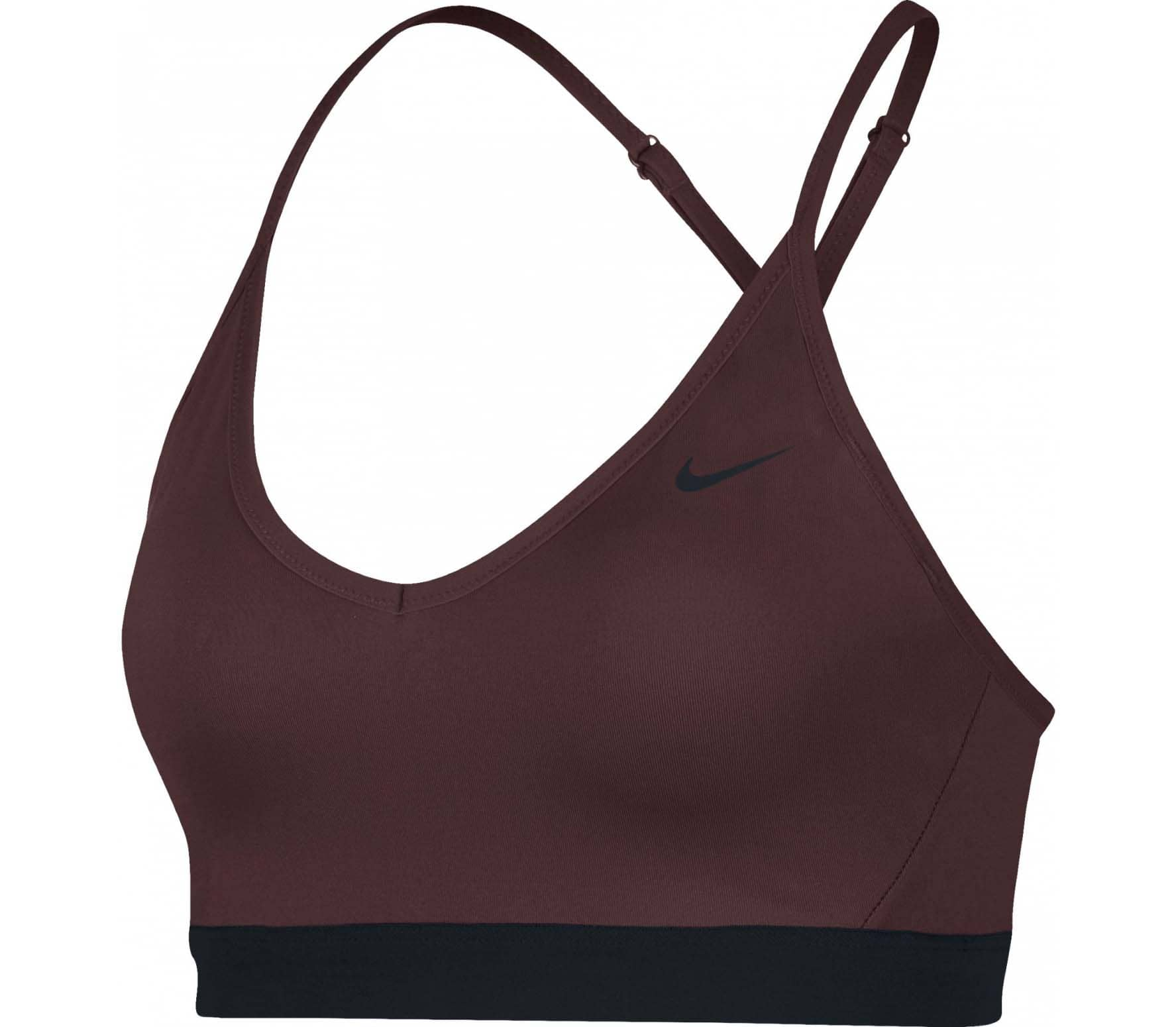 888ecdf644d4a Nike - Indy Light Support women s training bra (red black) - buy it ...