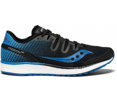 Saucony - Freedom ISO men\'s running shoes (black/blue)