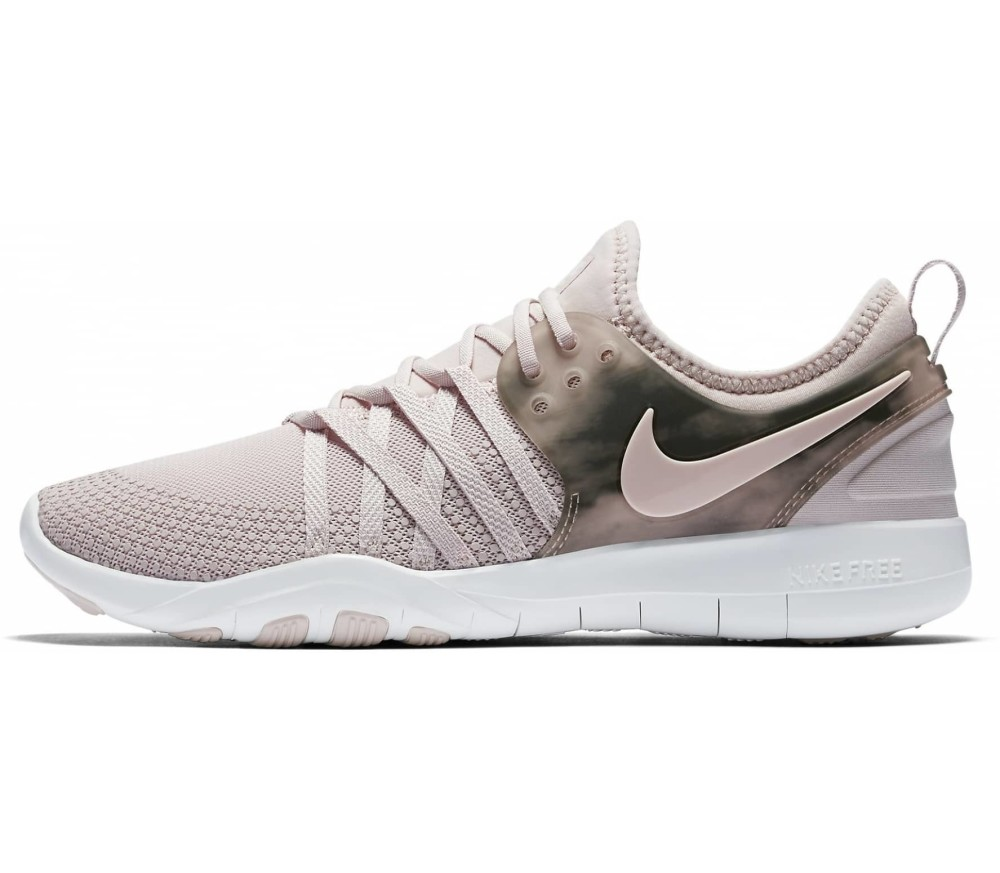 best service 1fc9e a9a43 Nike - Free TR 7 AMP womens training shoes (pinkgrey)