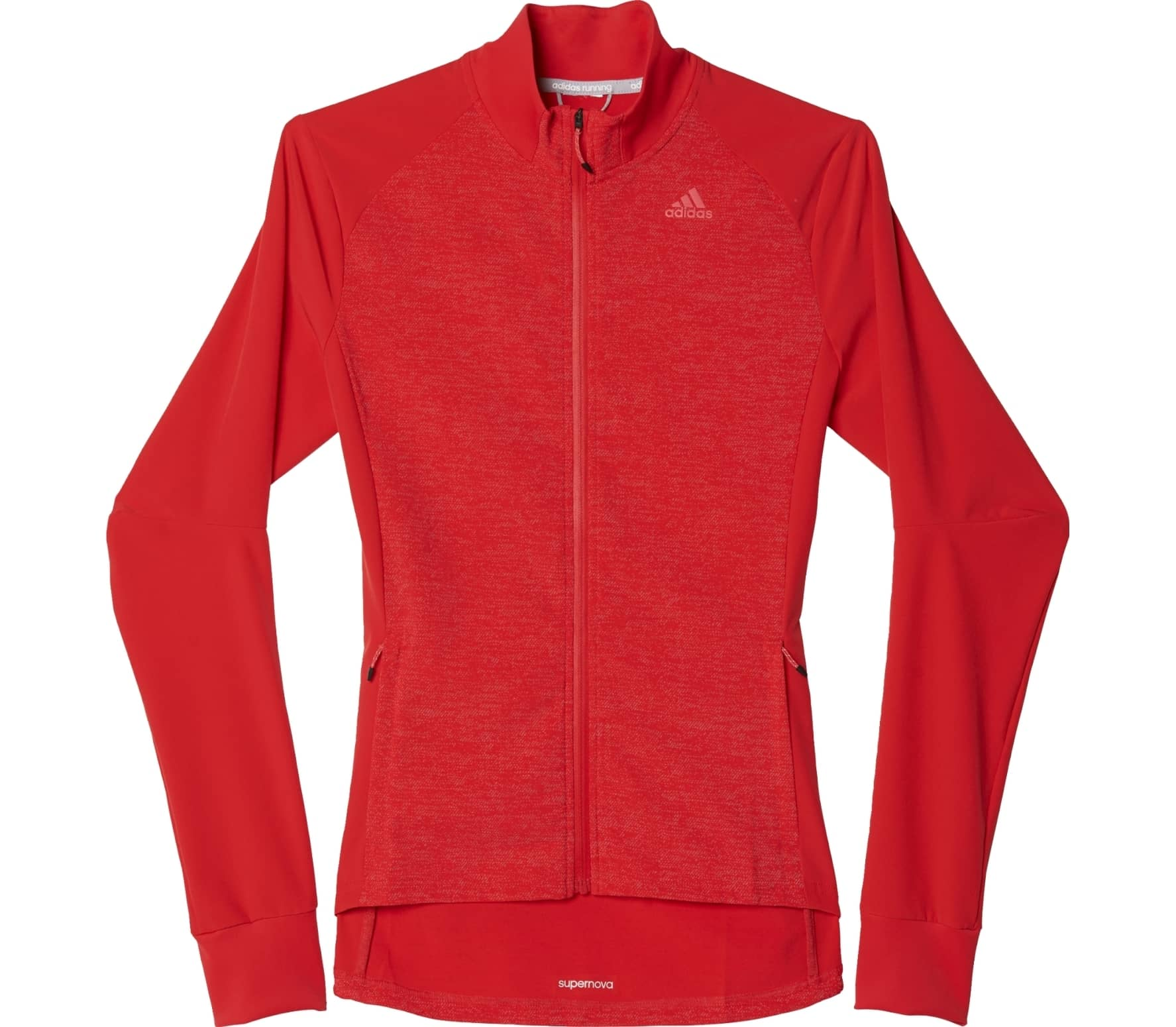 07f8c6f541964 Adidas - Supernova Storm women s running jacket (red) - buy it at ...