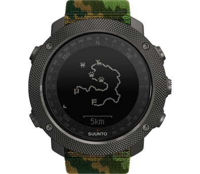 Suunto - Traverse Alpha Woodland outdoor watch (green/brown/camo)