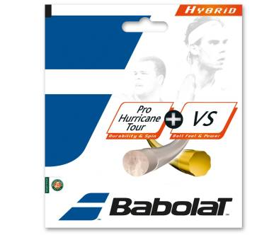Babolat Hybrid Pro Hurricane Tour 125 + VS 130 yellow